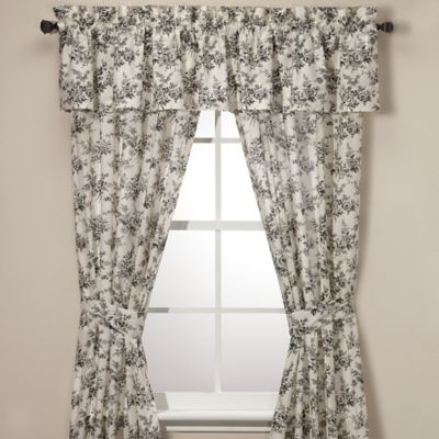 Laura Ashley® Cassandra 84-Inch Window Panel Pair