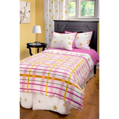 Rachel Kate Punk Rock Animal Girls Twin Comforter Set