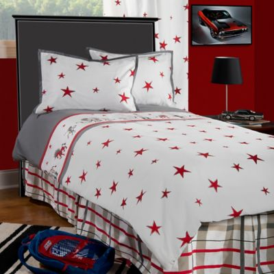 Rachel Kate Punk Rock Animal Boys Twin Comforter Set