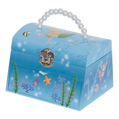 Mele & Co. Marina Girl's Musical Jewelry Box