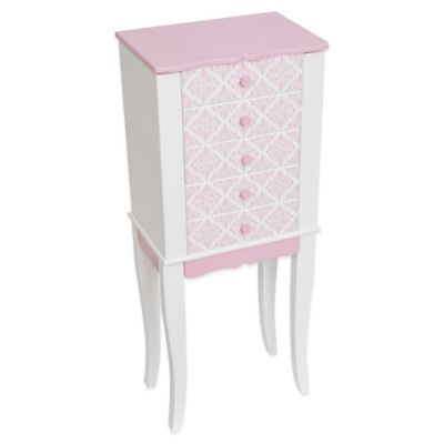 Mele & Co. Selena Girl's Jewelry Armoire