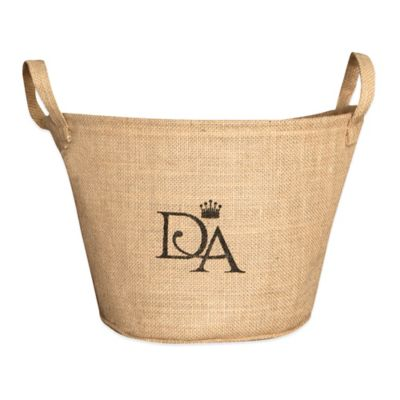 Downton Abbey® Village Collection 10-Inch x 8-Inch Rectangle Storage Basket