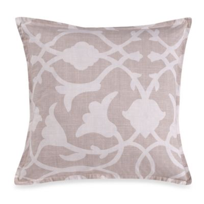 Barbara Barry® Poetical Square Throw Pillow in Pink Blush