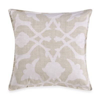 Barbara Barry® Poetical Square Throw Pillow in Natural