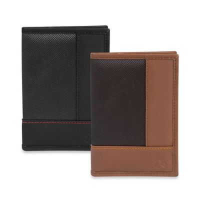 Travelon® Safe ID Accent Passport Case in Black