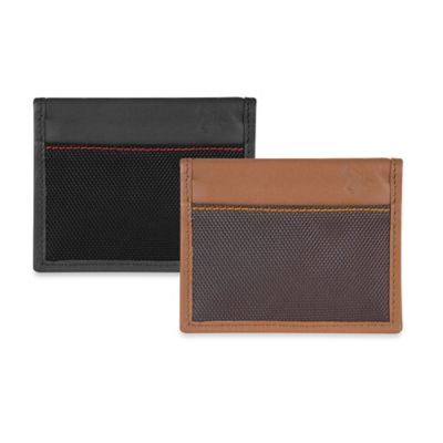 Travelon® Safe ID Accent Card Case in Black