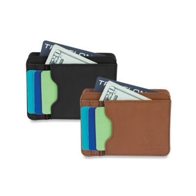 Travelon® Safe ID Accent Cash and Card Sleeve in Saddle