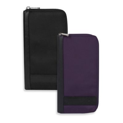 Travelon® Safe ID Accent Executive Organizer in Purple