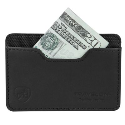 Safe ID Accent Card Sleeve in Black