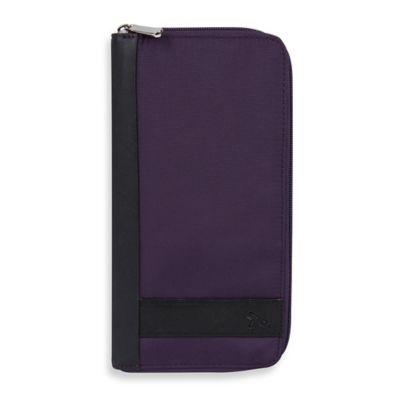 Travelon® Safe ID Accent Executive Organizer in Purple