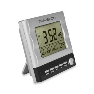 Travelon® Large Display Travel Alarm Clock
