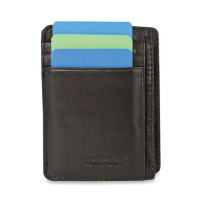 Black Cash and Card Sleeve