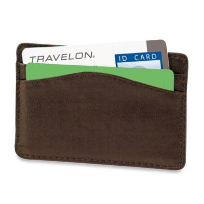 Leather Travel Sleeve