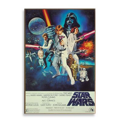 Star Wars™ Episode IV Movie Poster Wall Décor Plaque