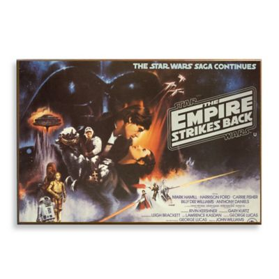 Star Wars™ Episode V The Empire Strikes Back Movie Poster Wall Décor Plaque