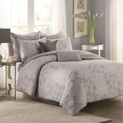 Floral Impressions Full/Queen Duvet Cover Set