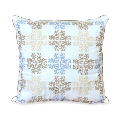 Nostalgia Home™ Valinda Square Throw Pillow in Grey