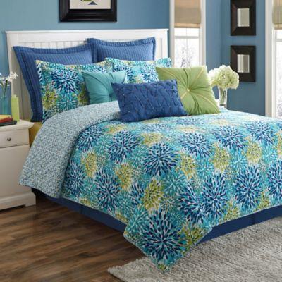 Fiesta® Calypso Reversible Full Comforter Set