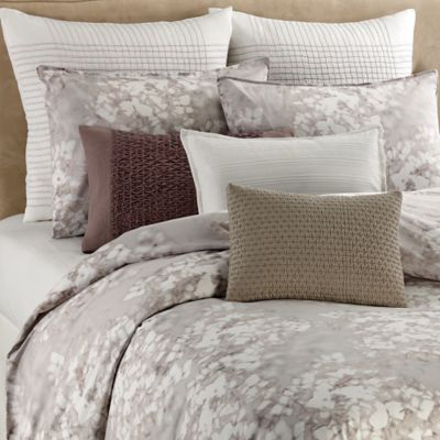 Vera Wang™ Water Flower Queen Duvet Cover