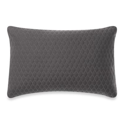 Vera Wang™ Noir Diamond Quilted Breakfast Throw Pillow