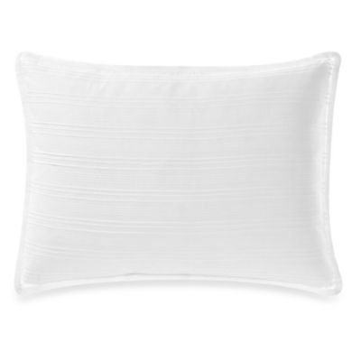 Vera Wang™ Water Flower Pleated Breakfast Throw Pillow