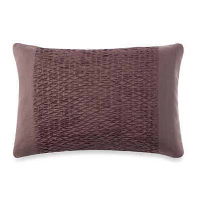 Vera Wang™ Water Flower Diamond Tuck Breakfast Throw Pillow