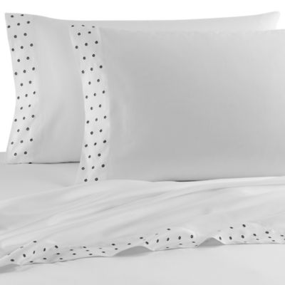 Vera Wang™ Noir Queen Flat Sheet