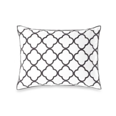 Vera Wang™ Pom Poms Embroidered Breakfast Throw Pillow