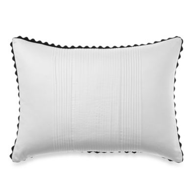 Vera Wang™ Pom Poms Pleated Breakfast Throw Pillow
