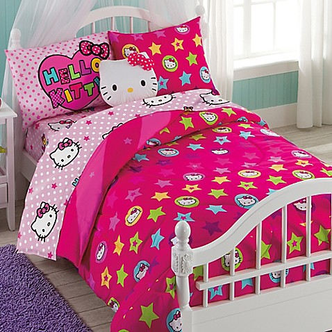 Hello Kitty Reversible Comforter Set Bed Bath Beyond