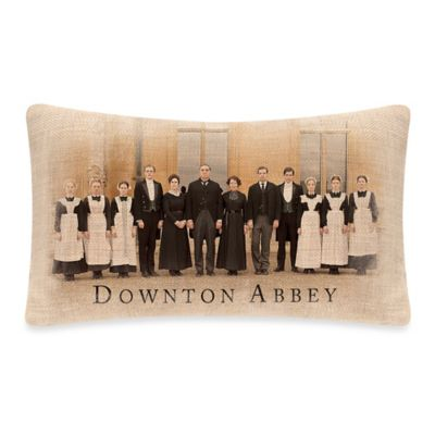 Downton Abbey® Downton Cast Oblong Throw Pillow