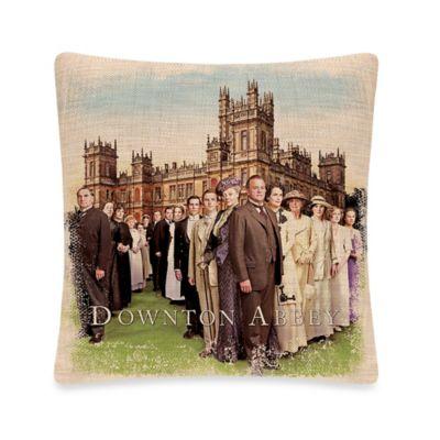 Downton Abbey® Downton Cast Square Throw Pillow