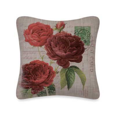 Downton Abbey® Rosamund Square Pillow