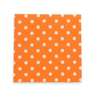 Glenna Jean Rhythm Dot Wall Art in Orange/White