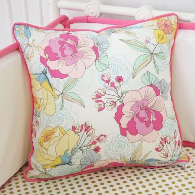 Caden Lane® Gabby's Garden Square Toss Pillow
