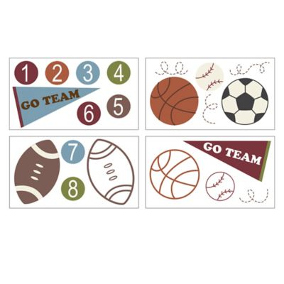 Belle Sports Star Wall Decals