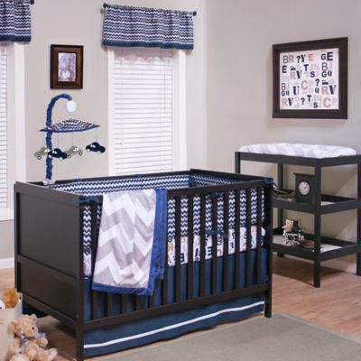 True Baby Quinn 3-Piece Crib Bedding Set