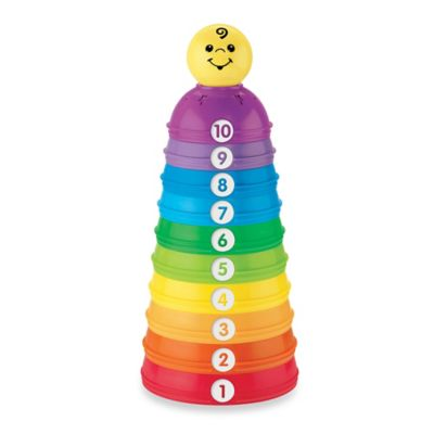 Fisher-Price® Stack & Roll Cups