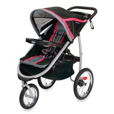 Graco® FastAction™ Fold Jogger Click Connect™ Stroller in Azalea