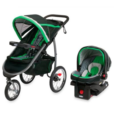 Graco® FastAction™ Fold Jogger Click Connect™ Travel System in Fern