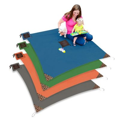 Monkey Mat® Your Portable Floor in Orange Sunrise