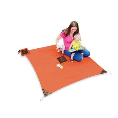 Monkey Mat® Your Portable Floor in Orange Sunrise