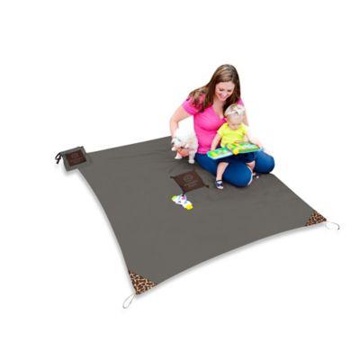 Monkey Mat® Your Portable Floor in Grey Groove