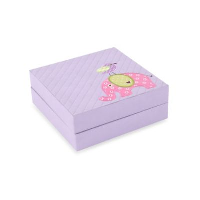 Wolf Designs Puzzle Box in Lilac Elephant