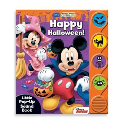 Disney Happy Halloween Little Pop-Up Sound Book