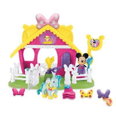 Fisher-Price® Disney® Minnie Jump 'N Style Pony Stable