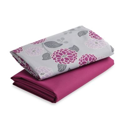Graco® Pack 'n Play® 2-Pack Playard Sheet in Amelia/Boysenberry