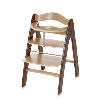 i'coo Pharo High Chair in Walnut/Natural