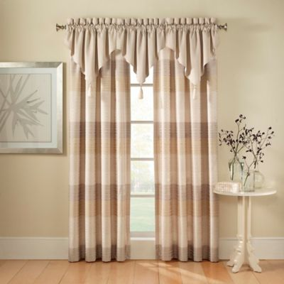 Waterford® Wavy Daze Ascot Window Valance