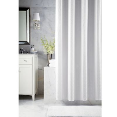Fabric Shower Curtain with Valances